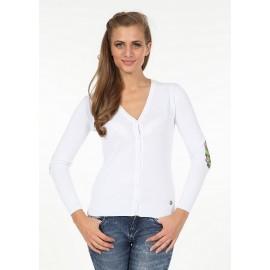 Pontto Dames Vest 6002 - White