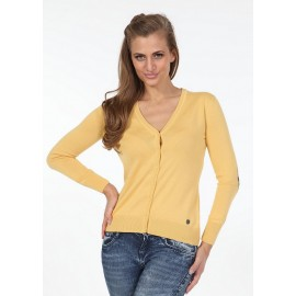 Pontto Dames Vest 6002 - Yellow