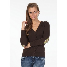 Pontto Dames Vest 6002 - Brown