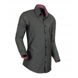 Heren Overhemd Styleover - 3007 Anthraciet