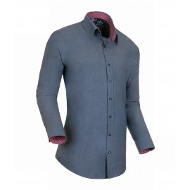 Heren Overhemd Styleover - 3012 Platin