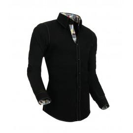 Heren Overhemd Styleover - 5010 Basic Black