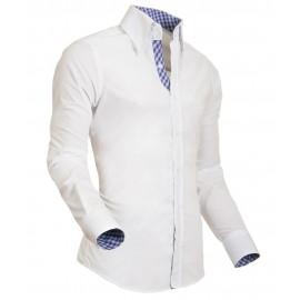 Heren Overhemd Styleover - 5011 Basic White