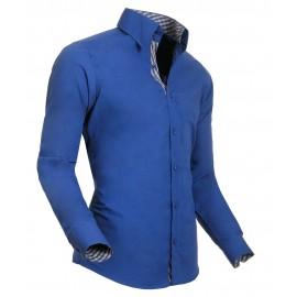 Heren Overhemd Styleover - 5011 Basic Blue