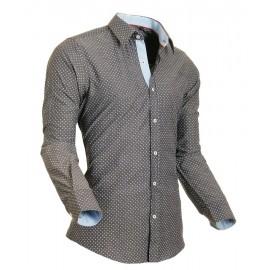 Heren Overhemd Styelover - 5012 Pixel Anthraciet