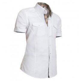 Heren Overhemd Styleover - 5013 Basic White