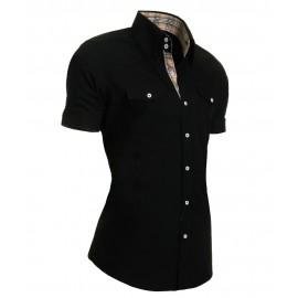 Heren Overhemd Styleover - 5013 Basic Black