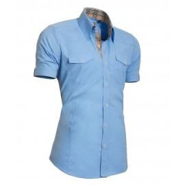 Heren Overhemd Styleover - 5013 Basic Lightblue