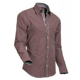 Heren Overhemd Styleover - 5015 Vicikaro Bordeaux