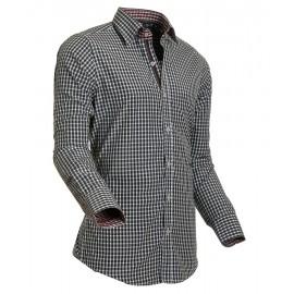 Heren Overhemd Styleover - 5015 Vicikaro Anthraciet