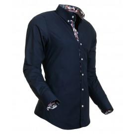 Heren Overhemd Styleover - 5017 Desin Navy