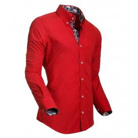 Heren Overhemd Styleover - 5017 Desin Red