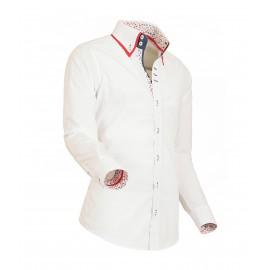 Heren Overhemd Styleover - 5019 Basic White