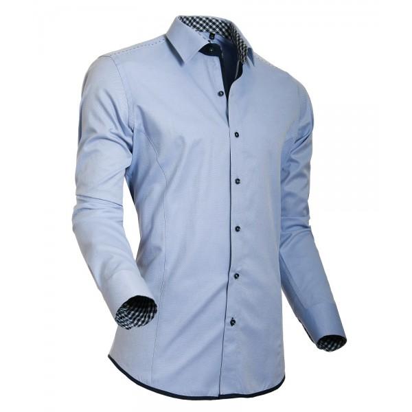 Overhemd Mannen.Heren Overhemd Styleover 5020 Oxford Lightblue