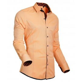 Heren Overhemd Styleover - 5020 Oxford Orange