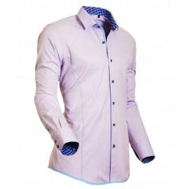 Heren Overhemd Styleover - 5020 Oxford Lilac