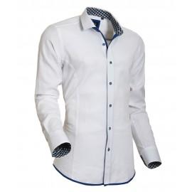 Heren Overhemd Styleover - 5020 Oxford White