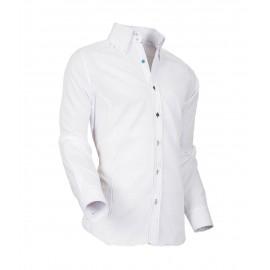 Heren Overhemd Styleover - 5021 Basic met Structuur White