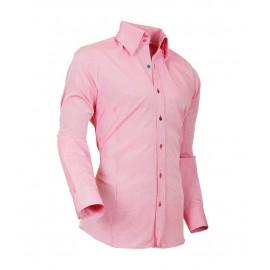 Heren Overhemd Styleover - 5021 Basic met Structuur Lachs