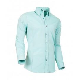 Heren Overhemd Styleover - 5021 Basic met Structuur Darkgreen