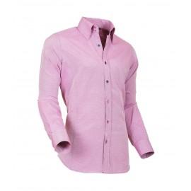 Heren Overhemd Styleover - 5021 Basic met Structuur Pink