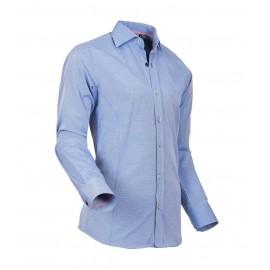 Heren Overhemd Styleover - 5022 Basic met Structuur Blue