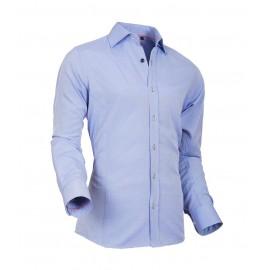 Heren Overhemd Styleover - 5022 Basic met Structuur Lightblue