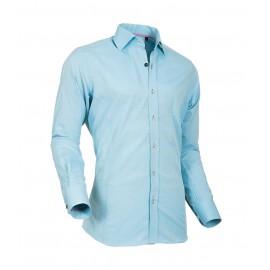 Heren Overhemd Styleover - 5022 Basic met Structuur  Aqua