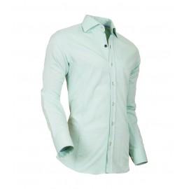 Heren Overhemd Styleover - 5022 Basic met Structuur  Lightgreen