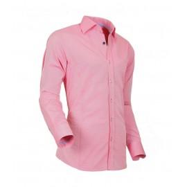 Heren Overhemd Styleover - 5022 Basic met Structuur  Lachs