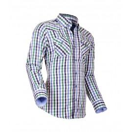 Heren Overhemd Styleover - 5023 Karo Blue-Green