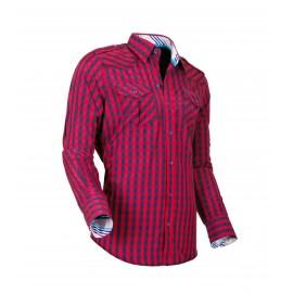 Heren Overhemd Styleover - 5025 Karo Red