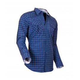 Heren Overhemd Styleover - 5025 Karo Darkgreen