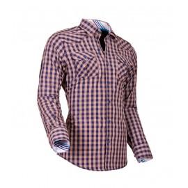 Heren Overhemd Styleover - 5025 Karo Beige