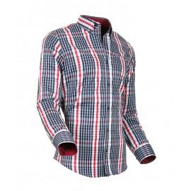 Heren Overhemd Styleover - 5026 Karo Red