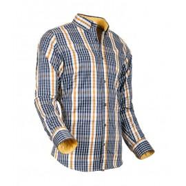 Heren Overhemd Styleover - 5026 Karo Yellow