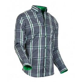 Heren Overhemd Styleover - 5026 Karo Green