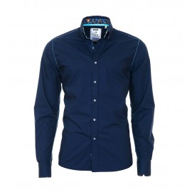 Heren Overhemd 8009 - Navy