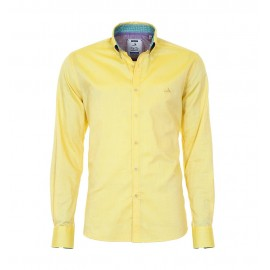 Heren Overhemd Pontto - 8010 Yellow