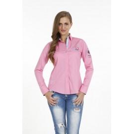 Dames Blouse Pontto Pink-Line - 9001 Rose