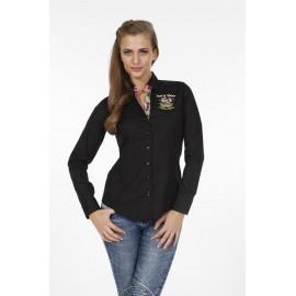 Dames Blouse Pontto Pink-Line - 9005 Black