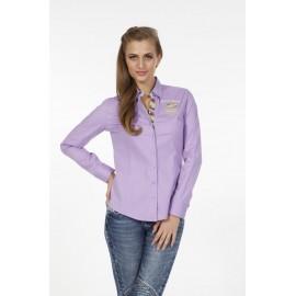 Dames Blouse Pontto Pink-Line - 9005 Lilac