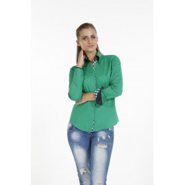 Dames Blouse Pontto Pink-Line - 9007 Green