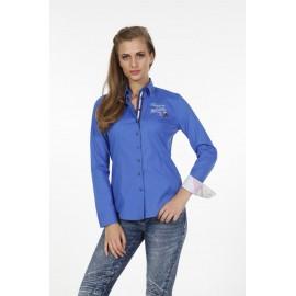 Dames Blouse Pontto Pink-Line - 9010 blue