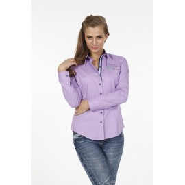Dames Blouse Pontto Pink-Line - 9010 Lilac