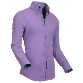 Heren Overhemd Styleover - 5011 Basic Lilac