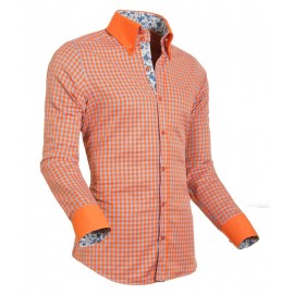 Heren Overhemd Styleover - 5004 Vicikaro Orange